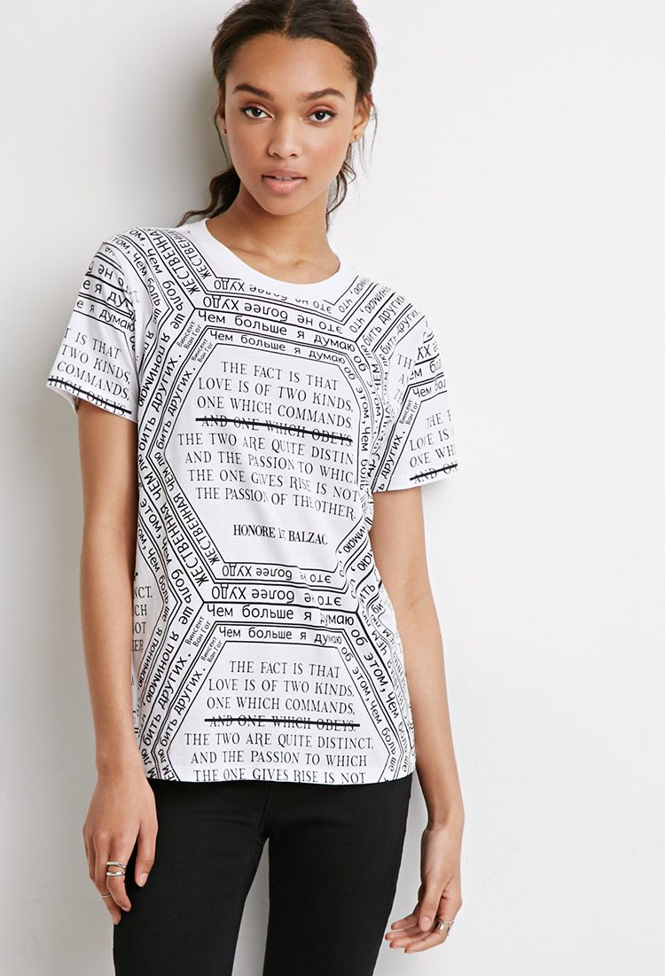 Love Is Graphic Tee - Tops - 2000183564 - Forever 21 EU