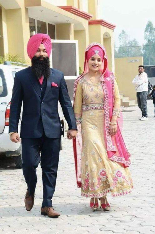 Beautiful sikh couples
