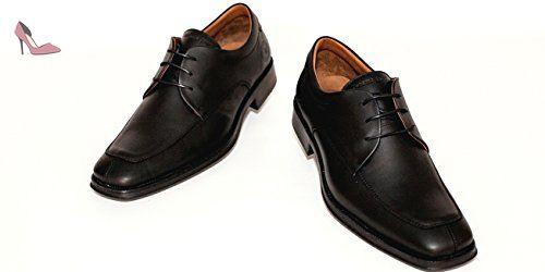 Panama Jack , Chaussures de ville à lacets pour homme noir noir - noir -  noir, 44 EU - Chaussures panama jack ( Partner-Link) 9ef18d149493