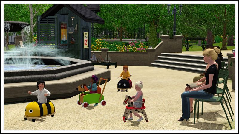 Toddler Walkers for The Sims 3 - does not require Sims 3