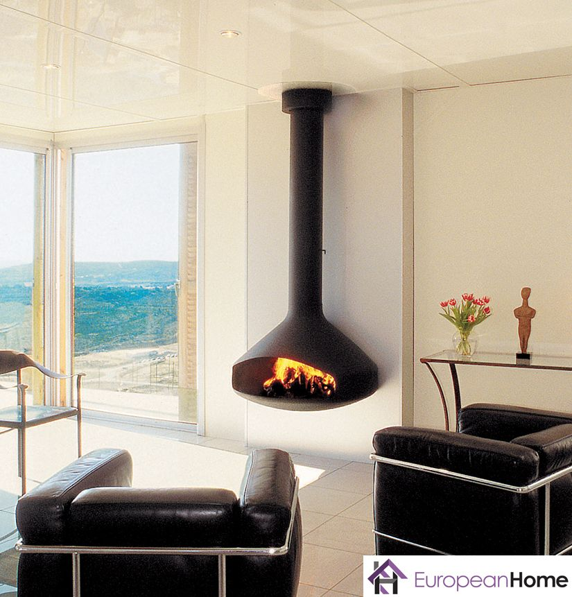 The Paxfocus By Focus Fires And Distributed By European Home Is A Modern And Space Saving Design Eur Freestanding Fireplace Focus Fireplaces Modern Fireplace