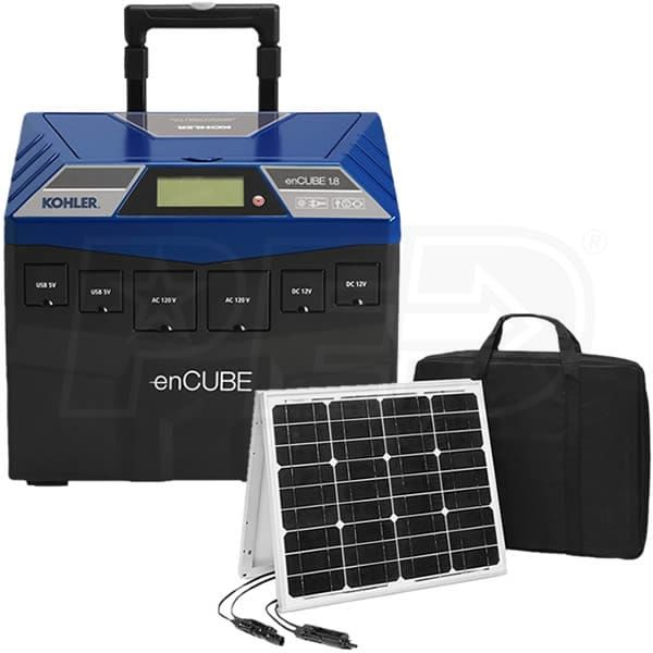 Kohler Egd Encube Kit Encubea 1440w Solar Power Portable Generator W 60 Watt Folding Solar Panel Best Solar Panels Solar Panels Solar Projects
