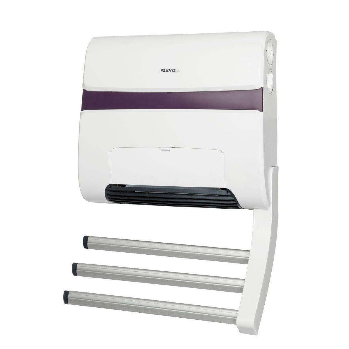 Radiateur soufflant électrique SUPRA Zitto 18 blanc/taupe 18 W
