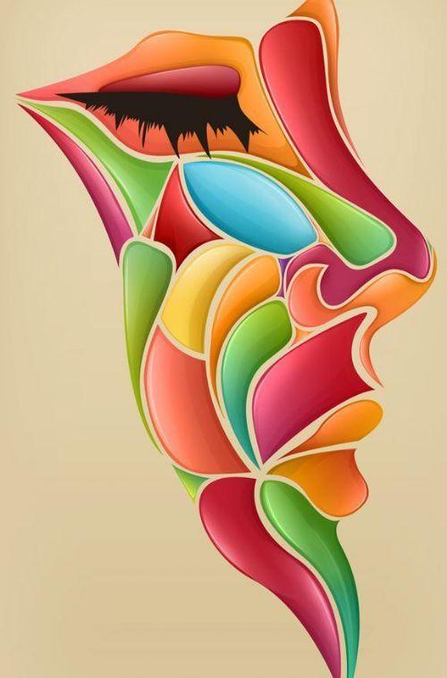 Ejemplos Del Arte Vexel Cofregrafico Dibujos Abstractos Pinturas Abstractas Arte Abstracto