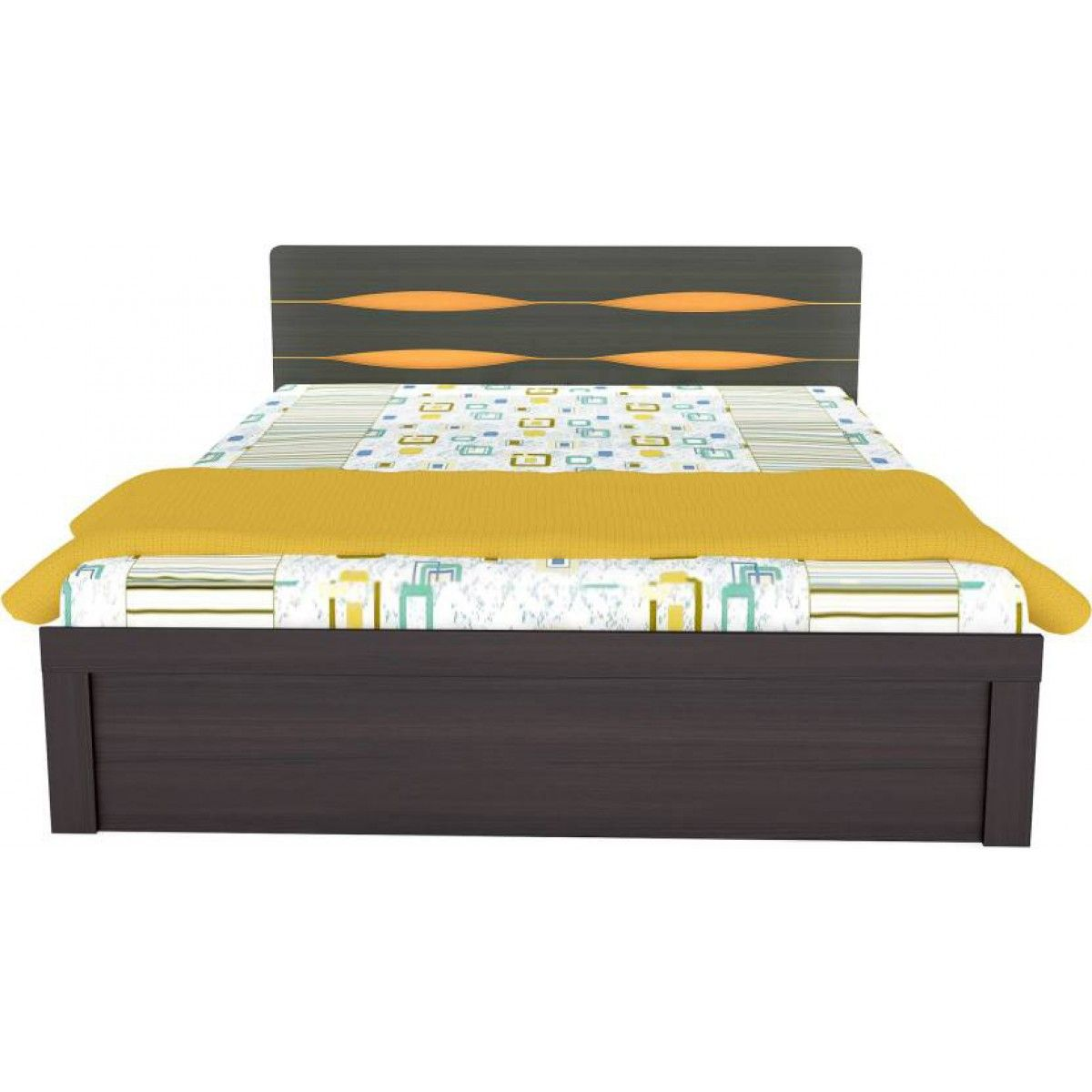 Gorevizon Boston Engineered Wood King Bed Bed Furniture Design Bed Design Bedroom Bed Design