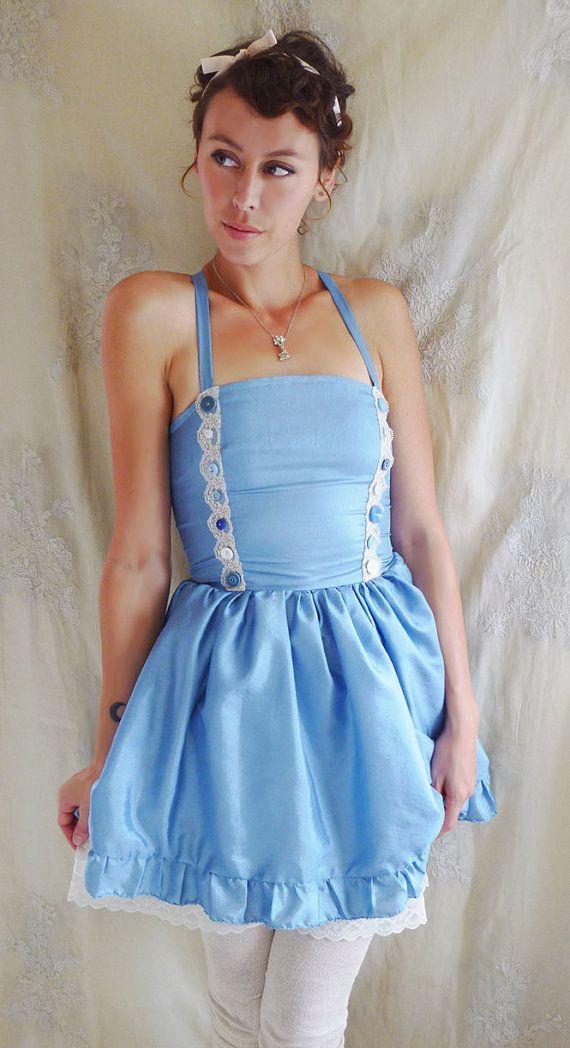 Alice\u0027s Blue Dress Halloween Costume by Fable Dresses wonderland - ideas for halloween costumes