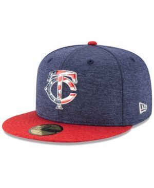 cheap prices run shoes new styles New Era Boys' Minnesota Twins Stars & Stripes 59FIFTY Cap - Blue 6 ...