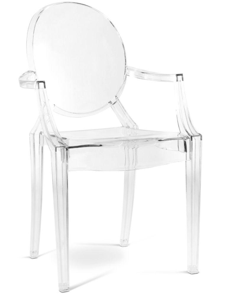 fauteuil polycarbonate transparent inspir louis ghost chaise design pinterest. Black Bedroom Furniture Sets. Home Design Ideas