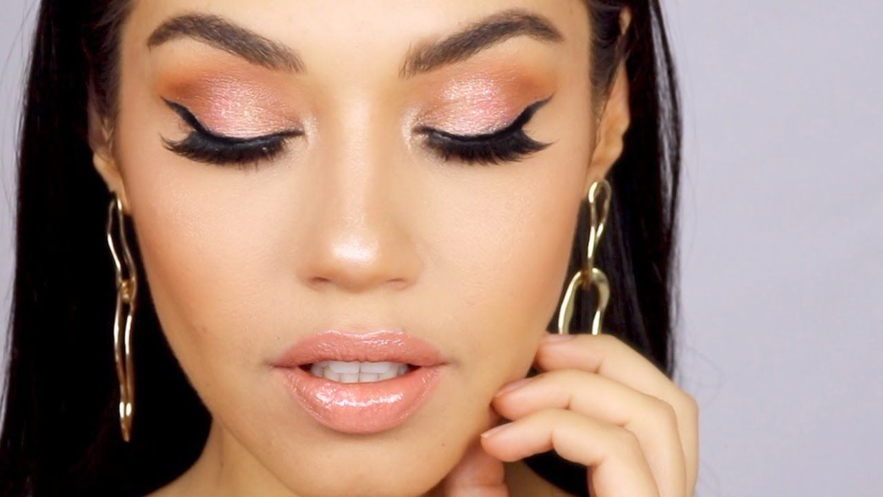 1c6c3618dc46a Easy Glam Prom Makeup Tutorial