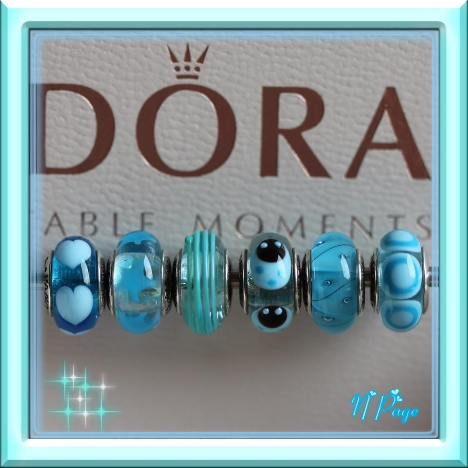 Blue, done in Murano glass by Pandora!