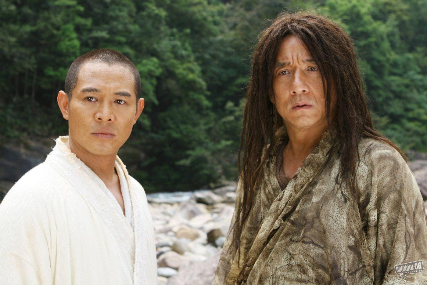 Jet Li Jackie Chan In Forbidden Kingdom Jackie Chan Jet Li Jackie Chan Movies