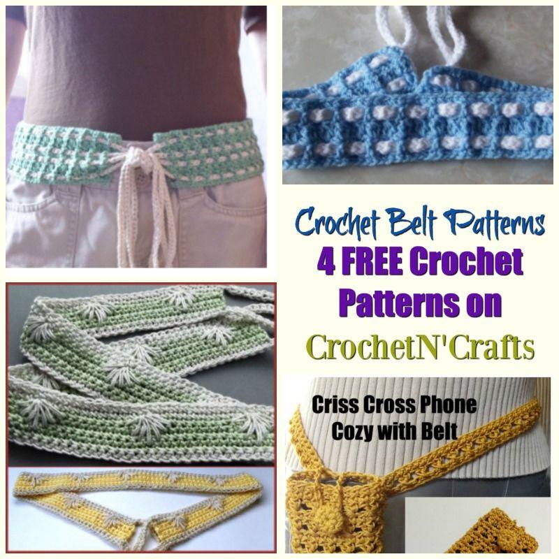 Free Crochet Belt Patterns On Crochetncrafts These Belt Crochet
