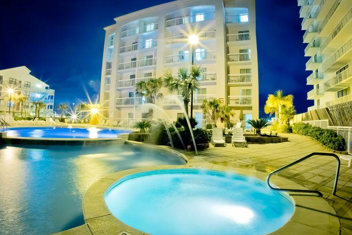 Beachfront Hotel Located Directly On The White Sand In Orange Beach Gulf Shores Alabama Orange Beach Hotels Orange Beach Alabama Beaches