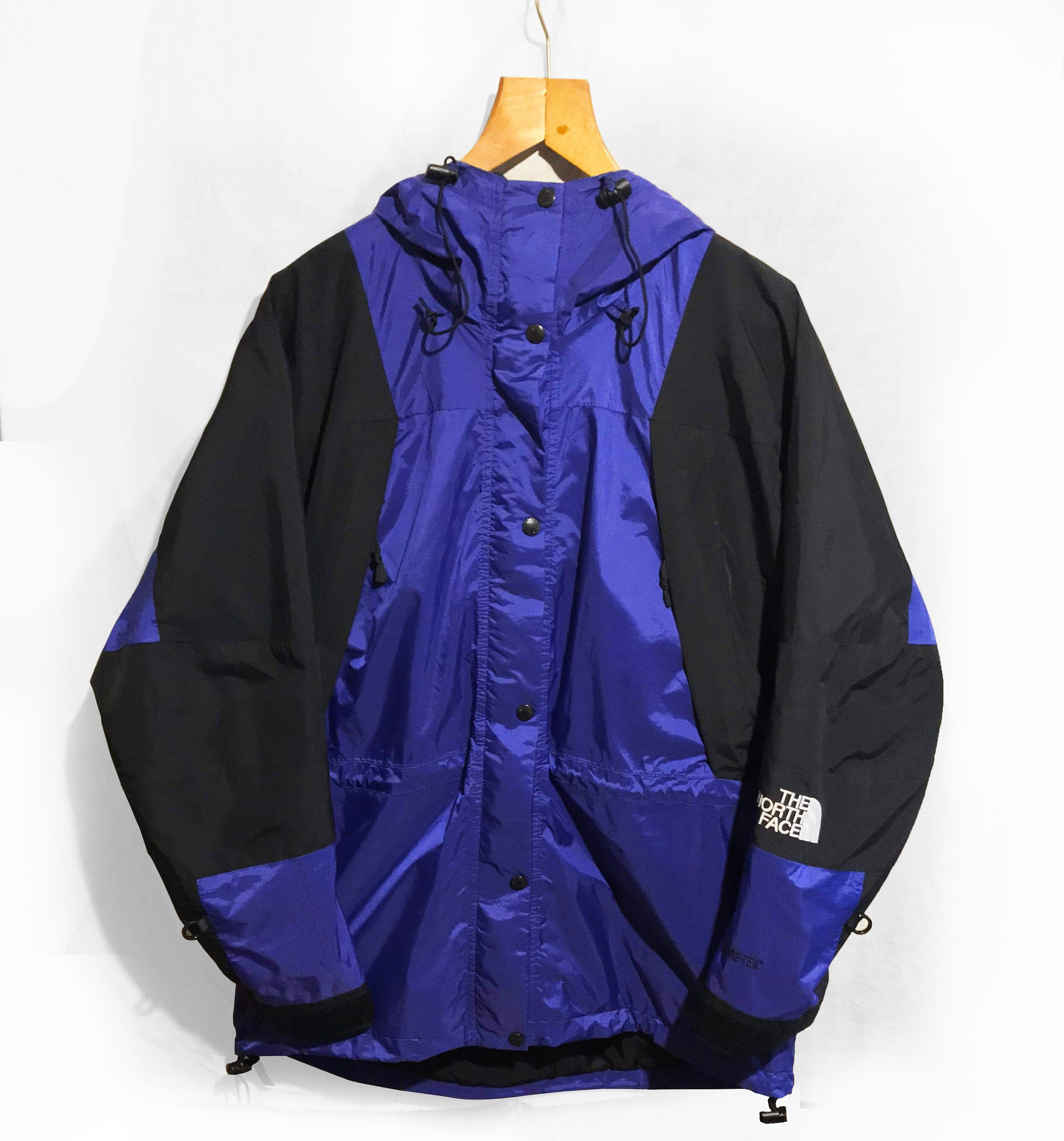 The North Face Jacket Mountain Light Gore Tex 3 In 1 Jacket Shell Only Purple Black Size M Supreme 90 S North Face Jacket Light Jacket Jackets [ 3000 x 2798 Pixel ]