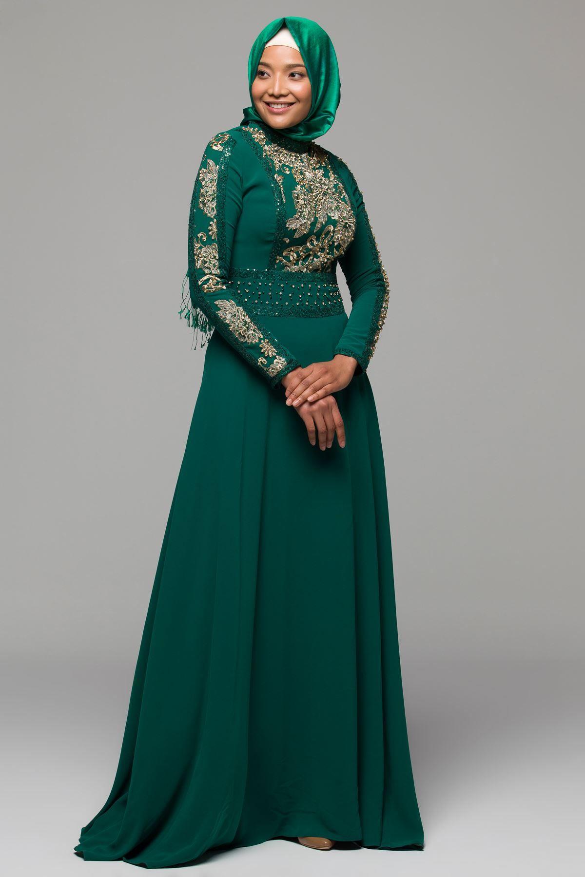 2018 Armine Tesettur Abiye Elbise Modelleri Https Www Tesetturelbisesi Com 2018 Armine Tesettur Abiye Elbise Modelleri Pina Fashion Hijab Fashion Hijab