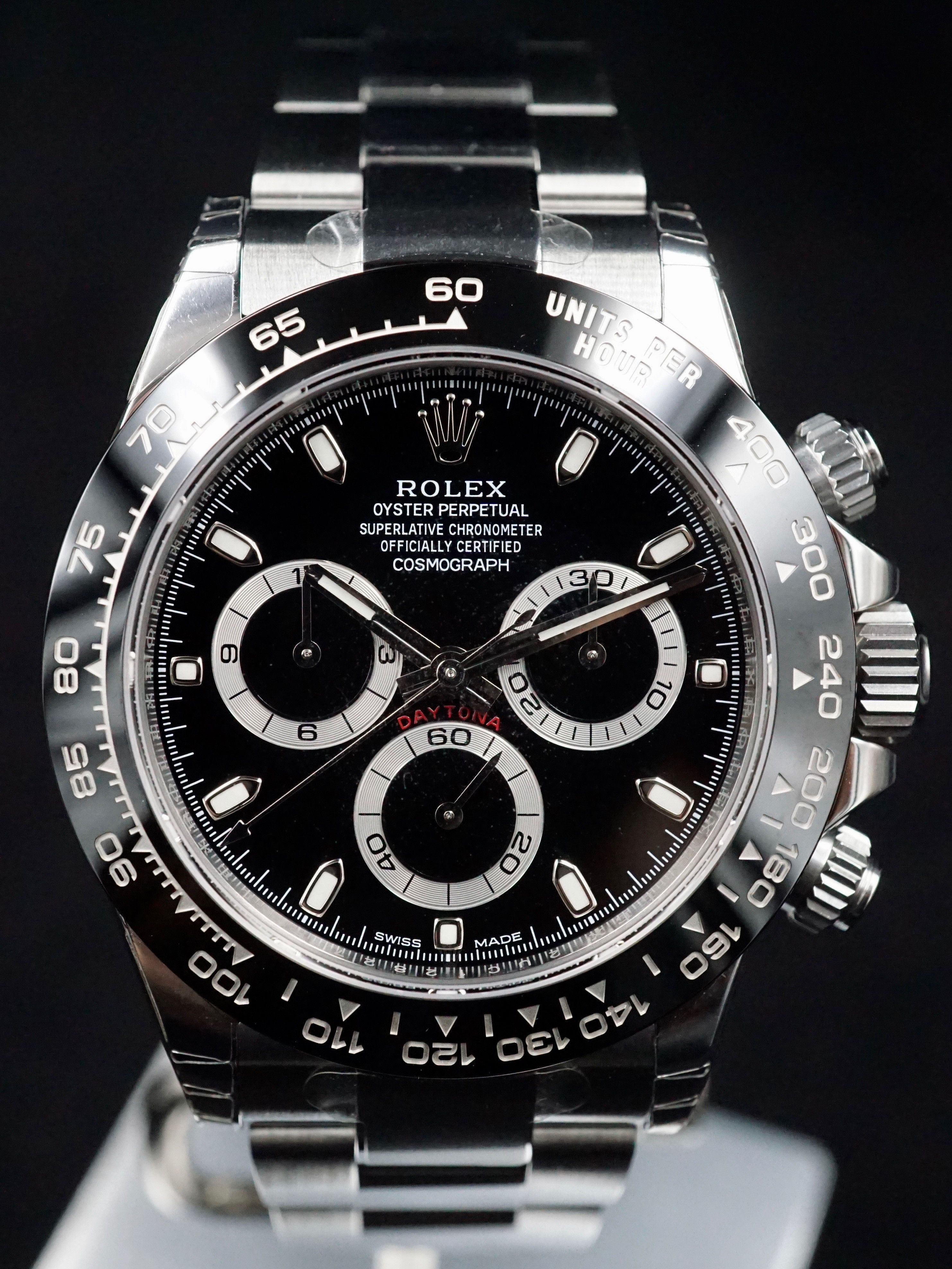 2016 Rolex Ceramic Daytona 116500LN Black Dial with Box and Papers ... eb6adc5d0c