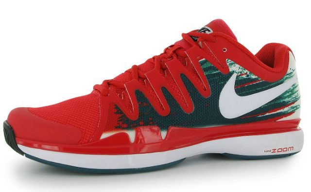Roger Federer s Nike Vapor 9.5 Tour for the  Tony Finnemore Open ... 0710e5371