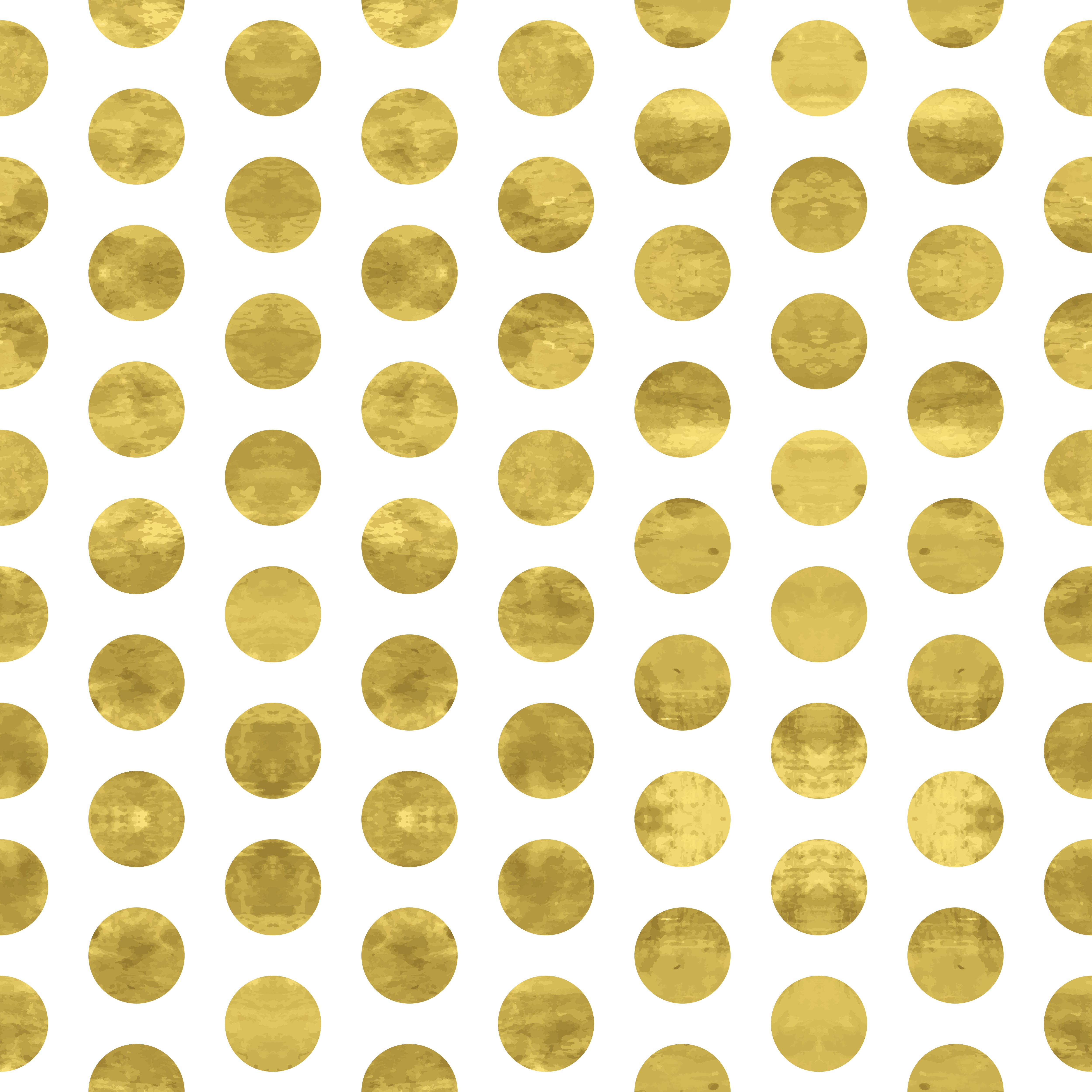Gold color cardstock paper 5x7 - Gold Dots 5x7