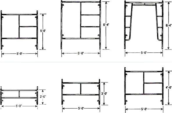 standard scaffolding sizes google search fahrenheit. Black Bedroom Furniture Sets. Home Design Ideas
