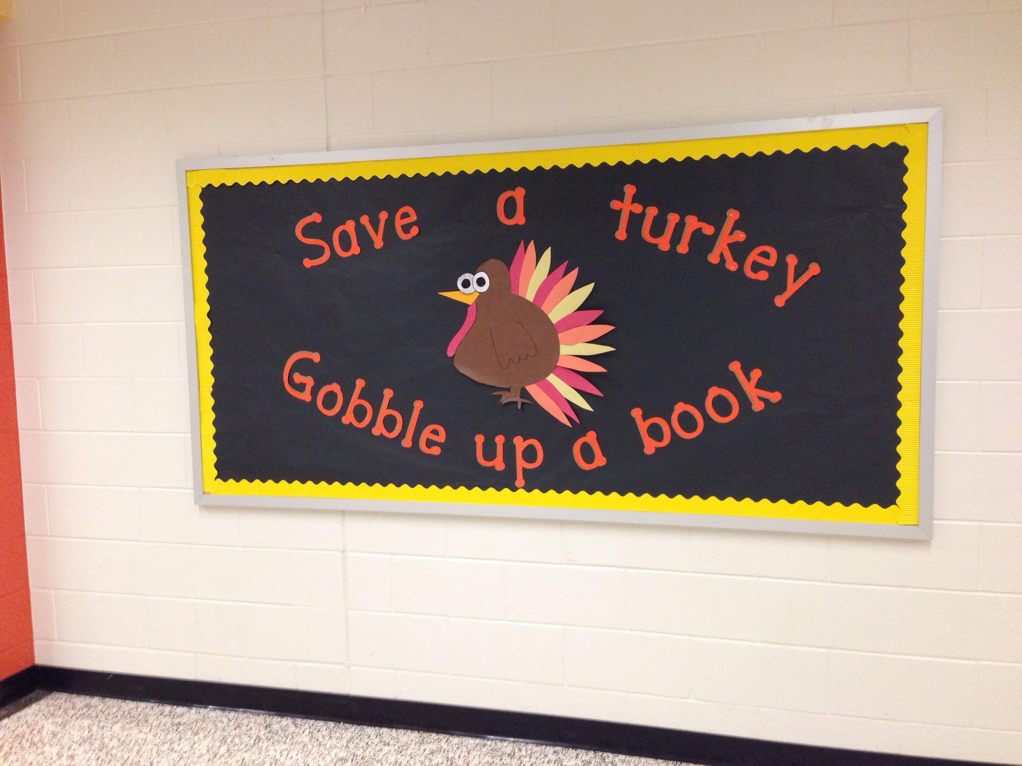 Thanksgiving Reading Bulletin Board