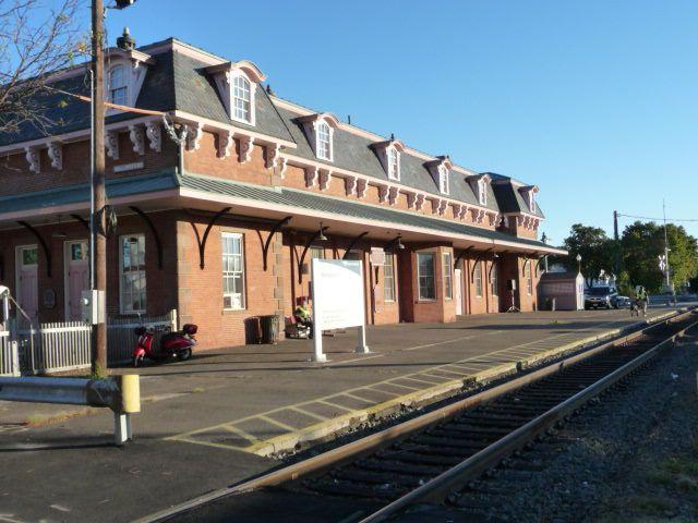 Railroad Station, Wallingford CT