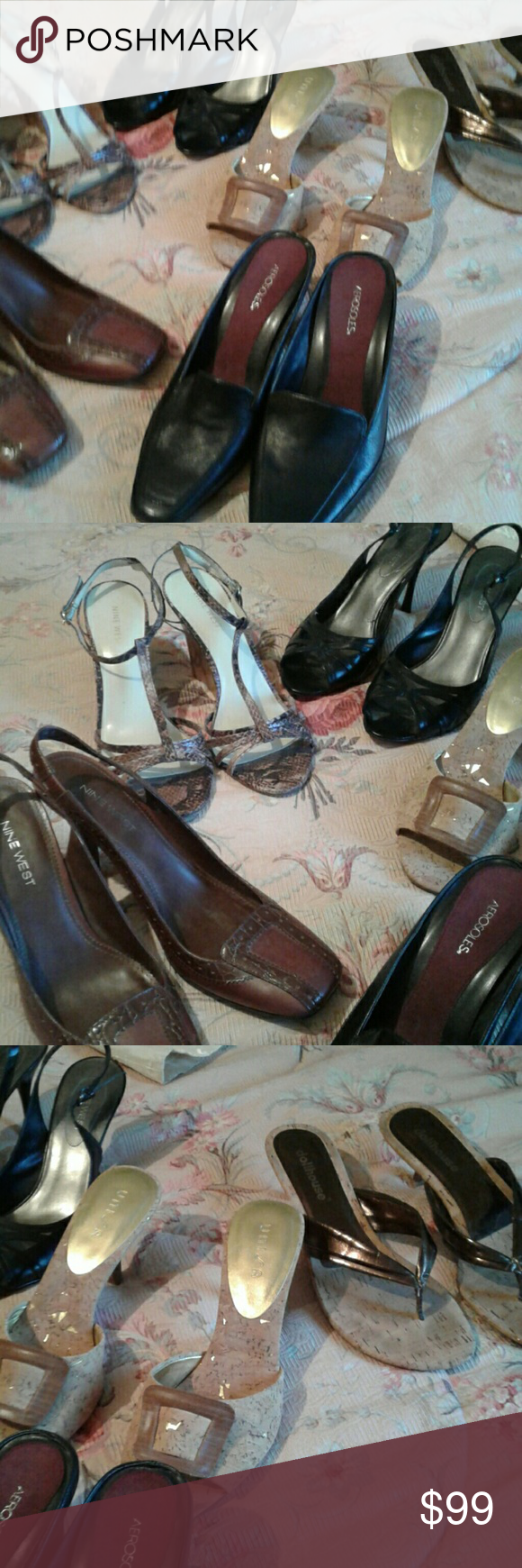 0fd4388f98038 6 Pair of Shoes all size 7 1 2 Sold Together That s Right all Six