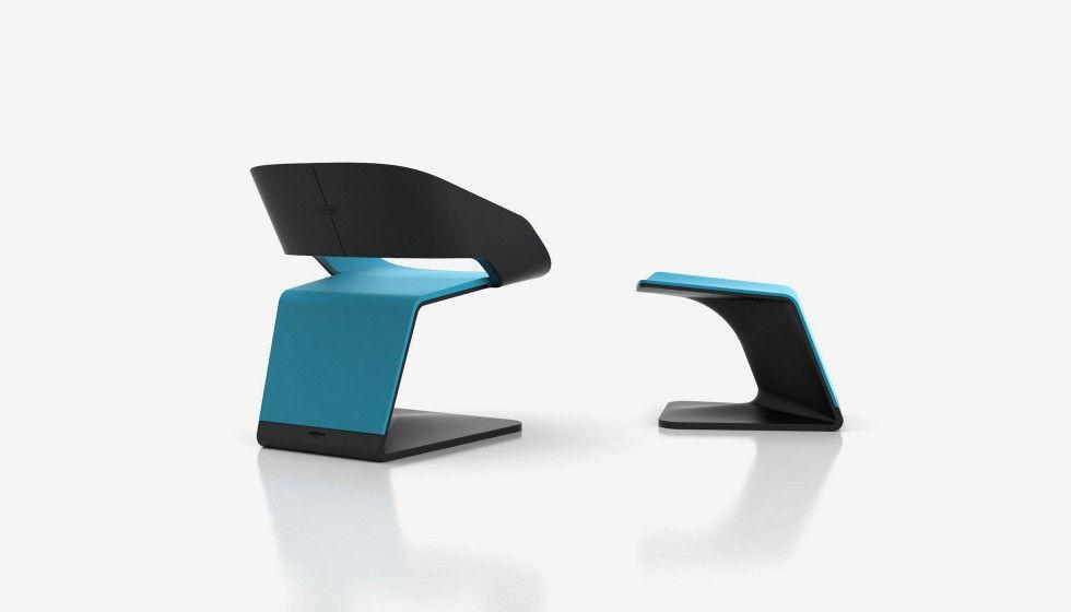 Ora-Gami chair with footrest | Ora-ïto