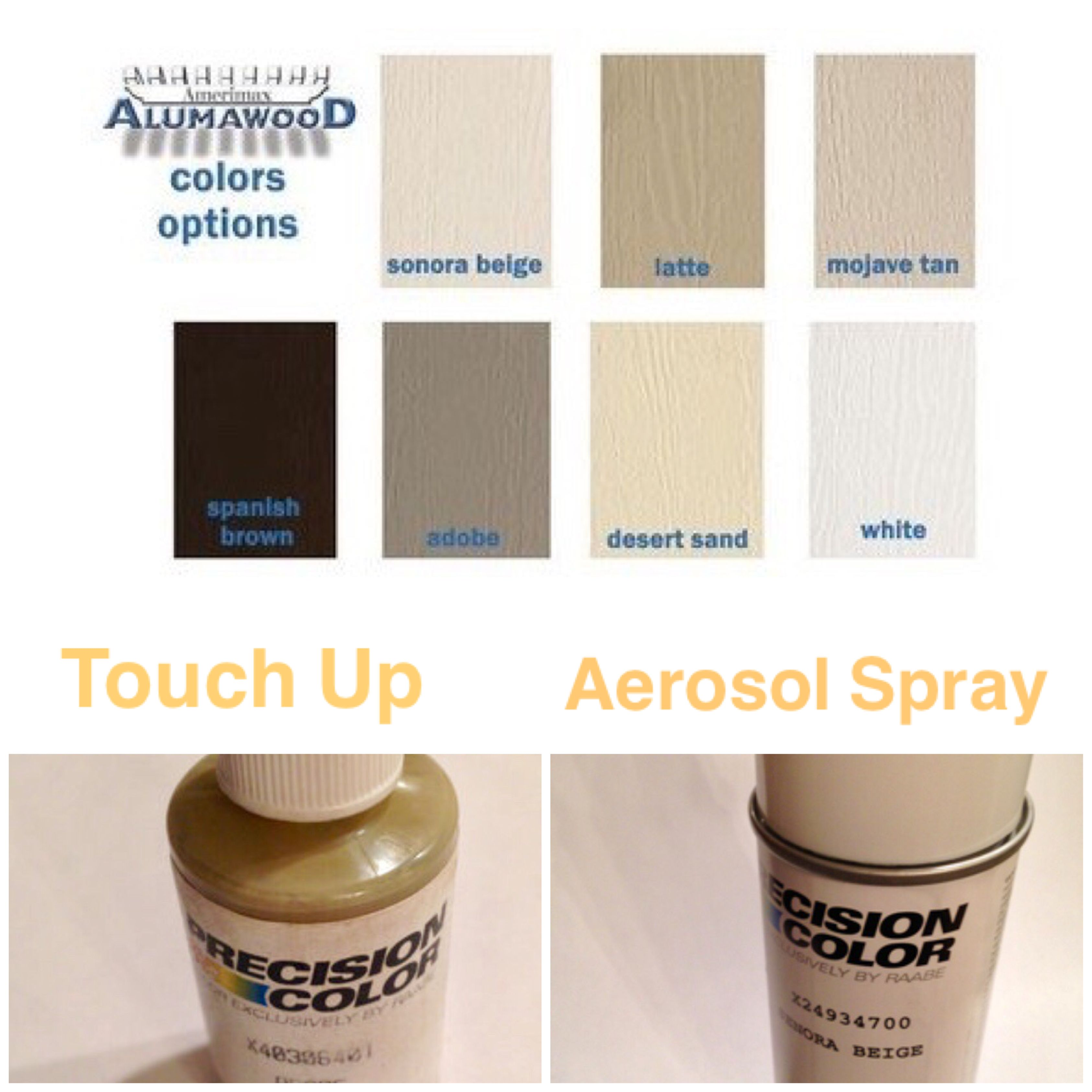 Alumawood Paint Covered Patio Latte Spray Can