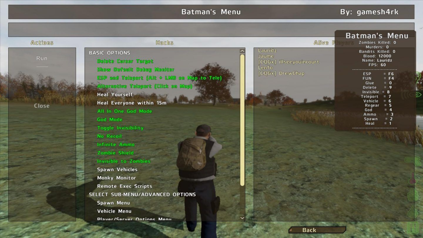 Dayz Hacks Standalone Undetected How To Use Game Apps Cheats 2020
