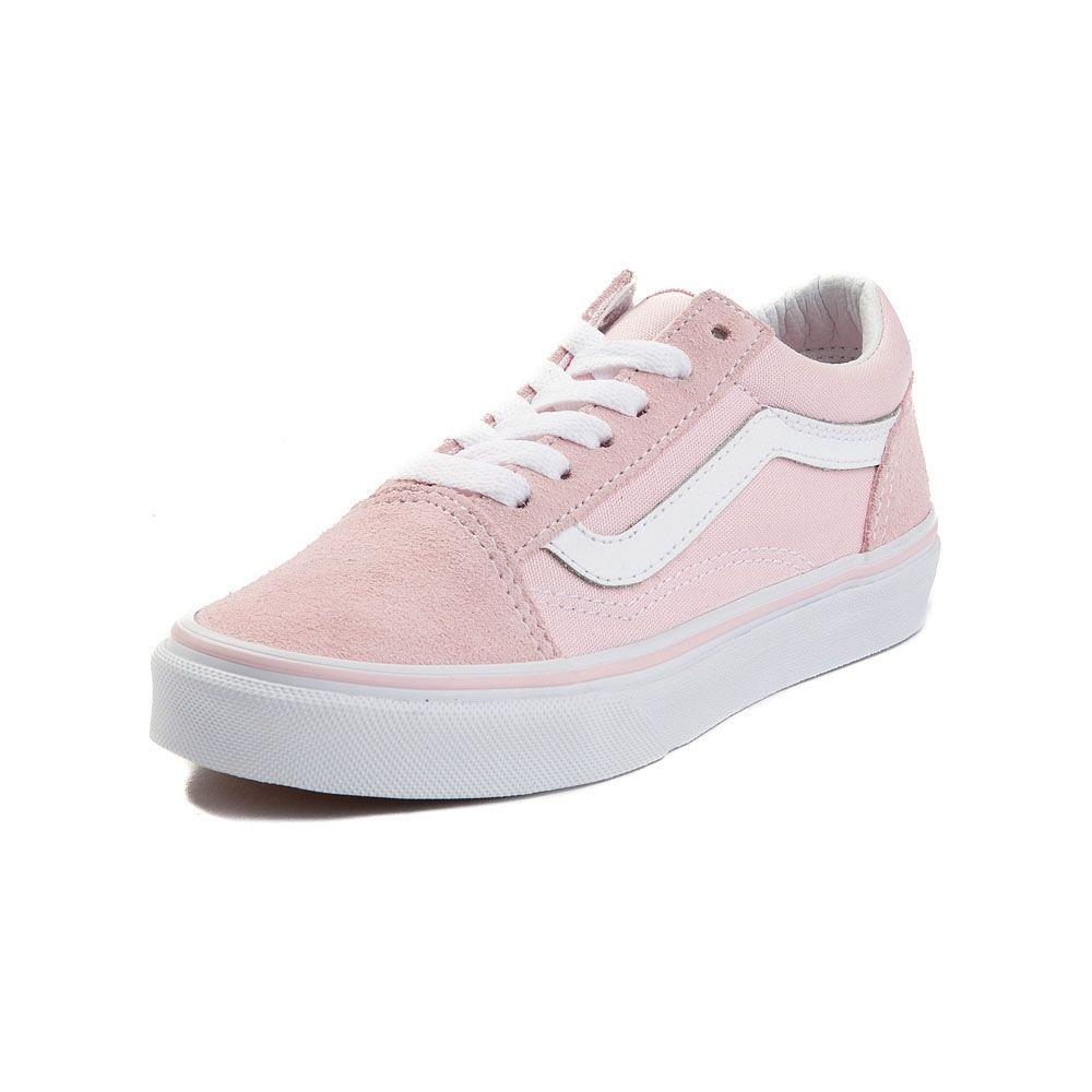 Youth Tween Vans Old Skool Skate Shoe - Light Pink - 1498177 78841a6b36