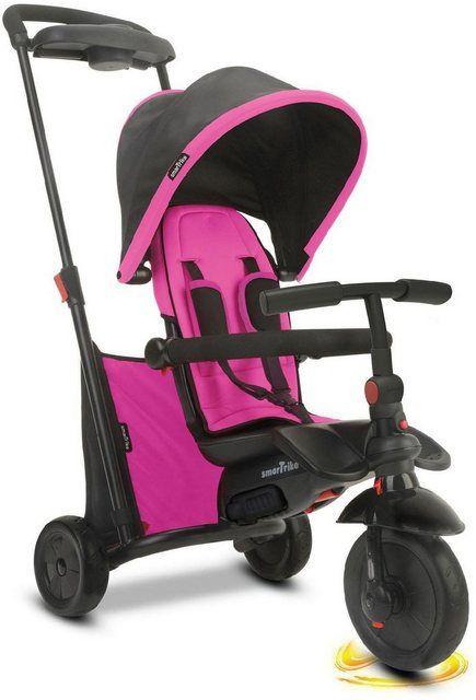 Smartrike Dreirad Folding Trike 500 Pink Mit Verstellbarem Sonnenschutzdach Online Kaufen Dreirad Rad Fahrzeuge