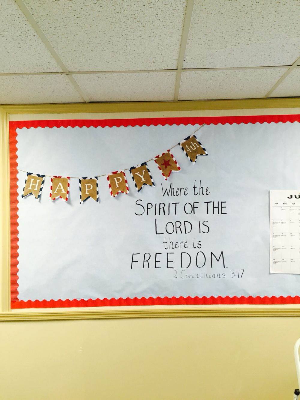 Celebrate Independence Day July 4th Church Bulletin Board July 2015 Church Bulletin Boards