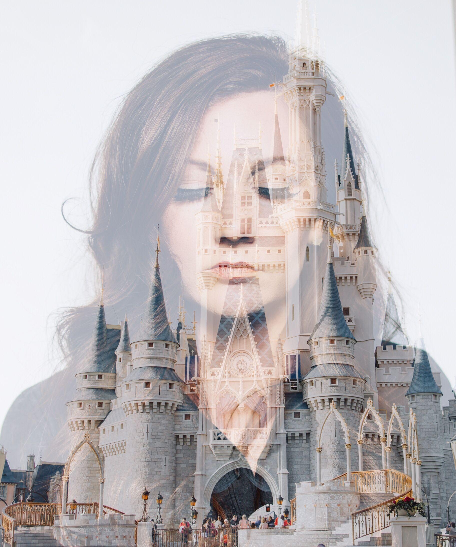 creative Disney double exposure