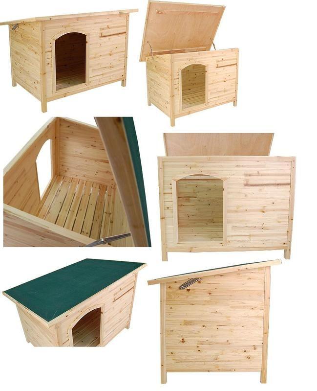 Wooden Pet House Kennel For Dog Cat Indoor Outdoor Para Mi Perass