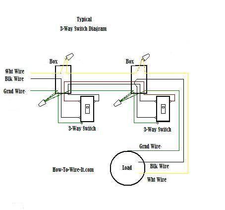 3-Way Switch Wiring Diagram | Électricité | Pinterest | Electrical ...