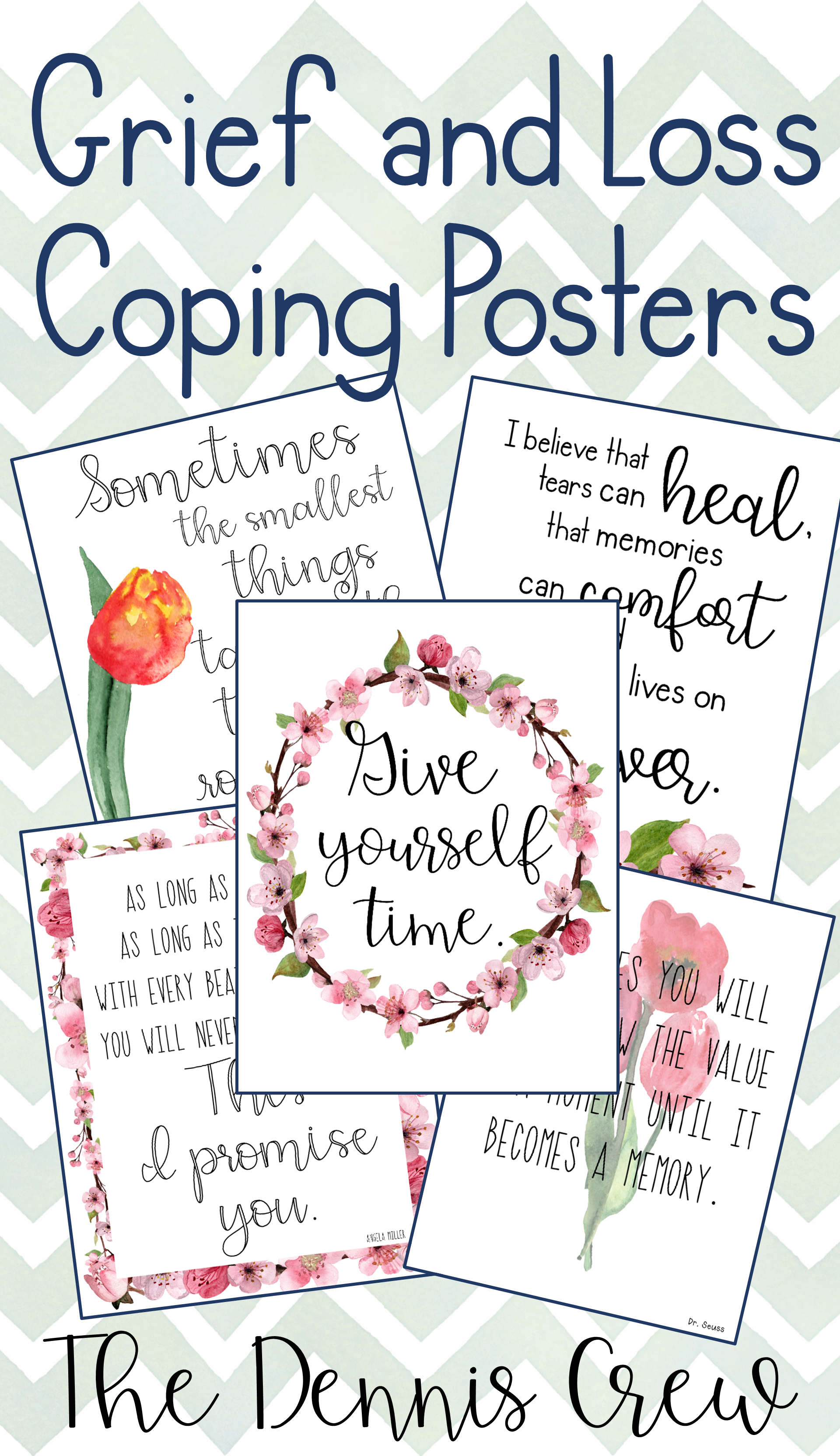 Grief And Loss Coping Posters