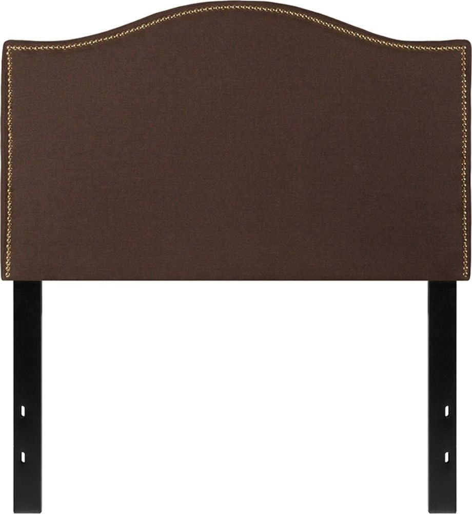 Flash Furniture Lexington Upholstered Full Size Headboard with Decorative Nail T