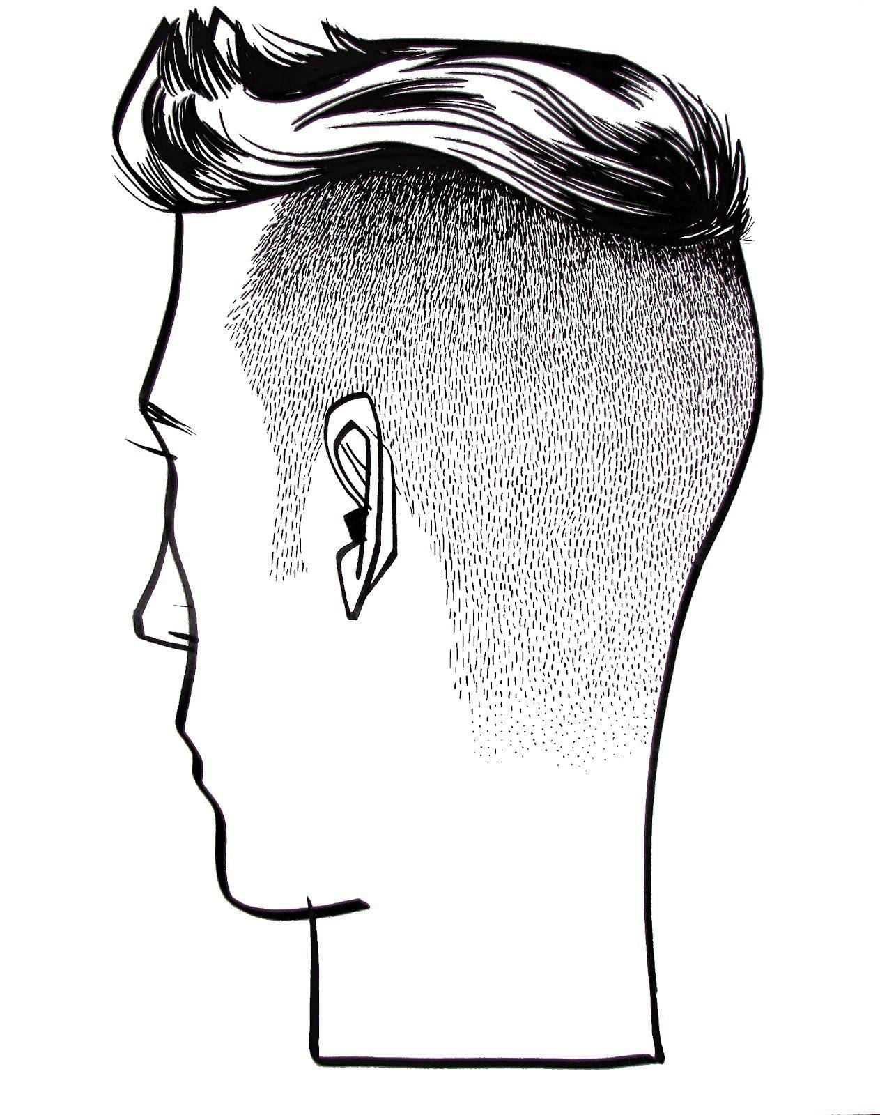 картинки голов с боку портального
