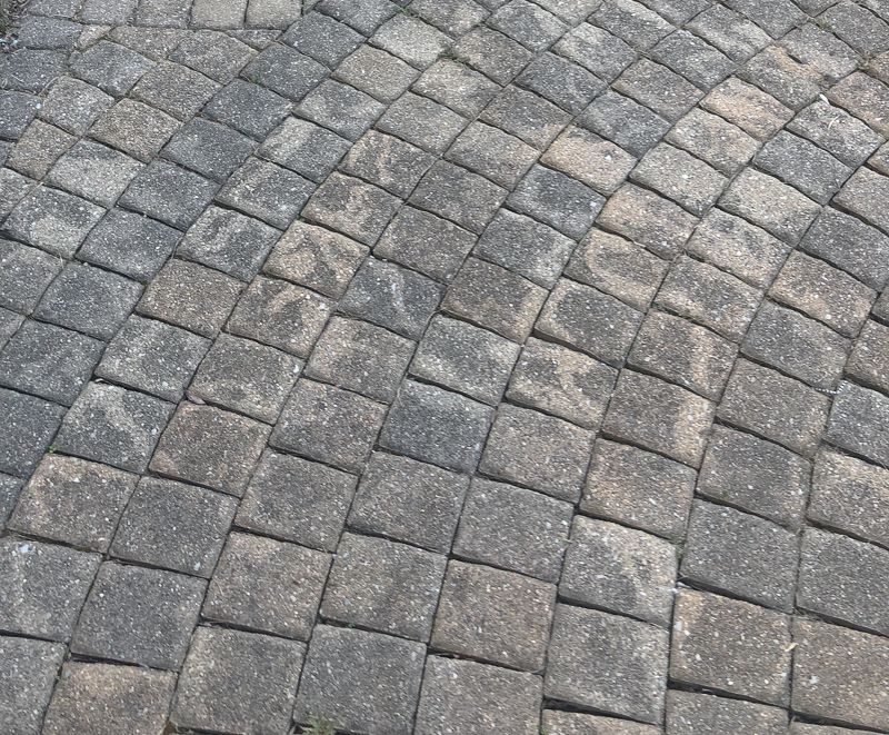 How To Remove Mildew And Mold From Paver Patio And Concrete Surfaces Paver Patio Cleaning Pavers Landscape Pavers