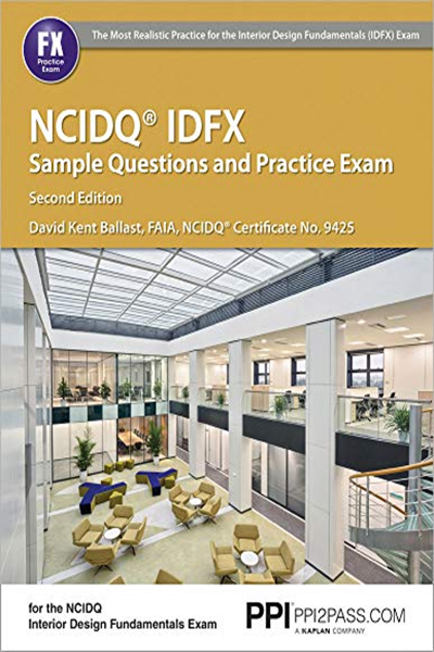 2017 Ppi Ncidq Idfx Sample Questions And Practice Exam 2nd
