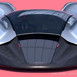 "DAVID VOLTNER บน Instagram: ""Aston Martin project is on Behance finally! - link in bio! #astonmartin #pforzheim #conceptcar #cardesignworld #cardesignnews…"""