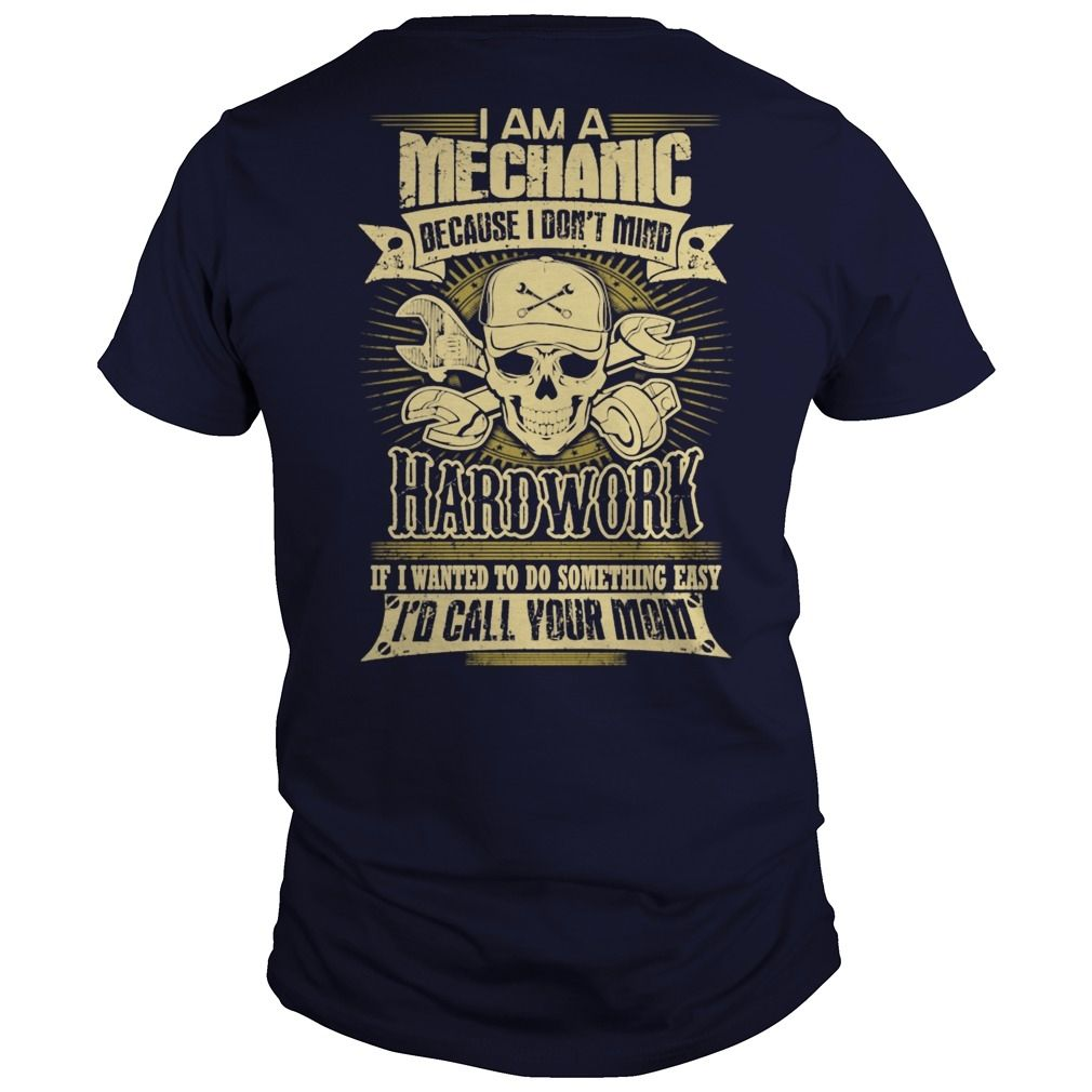 Mechanic Cars Automotive Hot Rod Muscle Car Mech Shirt Tshirt