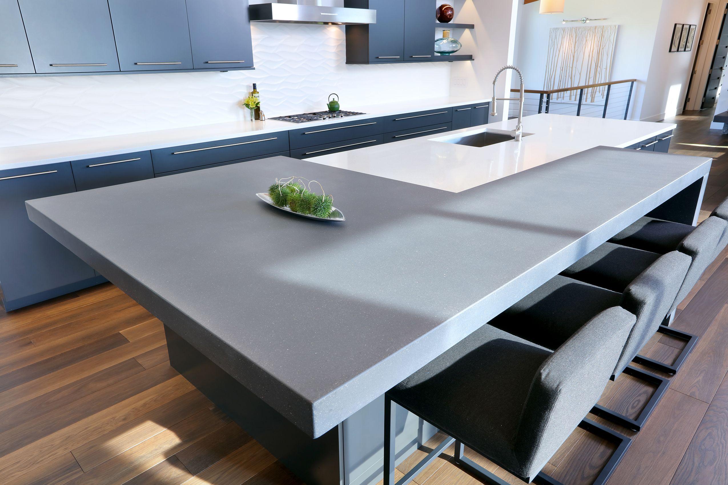 Precast Concrete Countertops - Kitchen (Hard Topix Precast Concrete ...