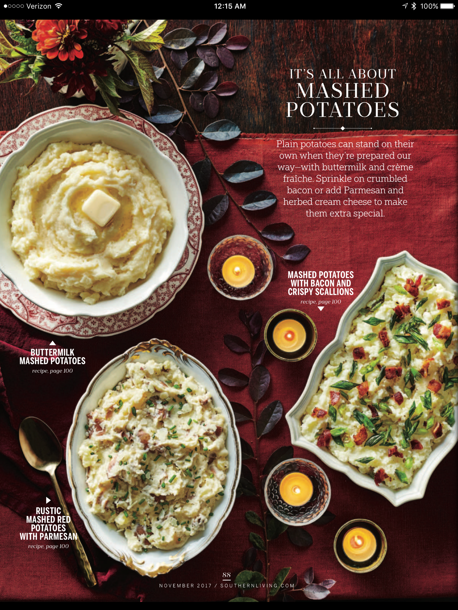 Three Versions Of Mashed Potatoes Page 1 Of 2 Bacon Mashed Potatoes Crumbled Bacon Buttermilk Mashed Potatoes