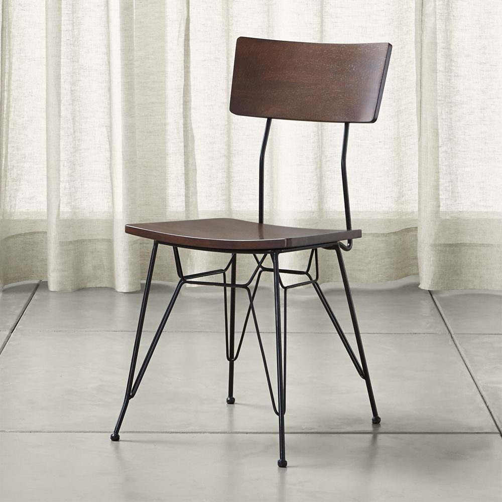 Elston dining chair crate and barrel dining chairs crates and