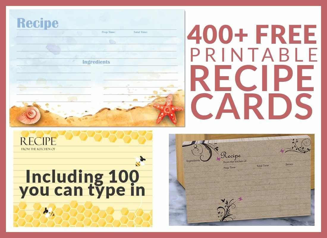 The Charming Free Editable Recipe Card Templates For Microsoft Word Free For Free Recipe Card Templates Recipe Cards Template Recipe Cards Photo Card Template