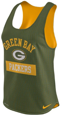 37239b1c114 NFL Green Bay Packers Ladies Mesh Tank Top
