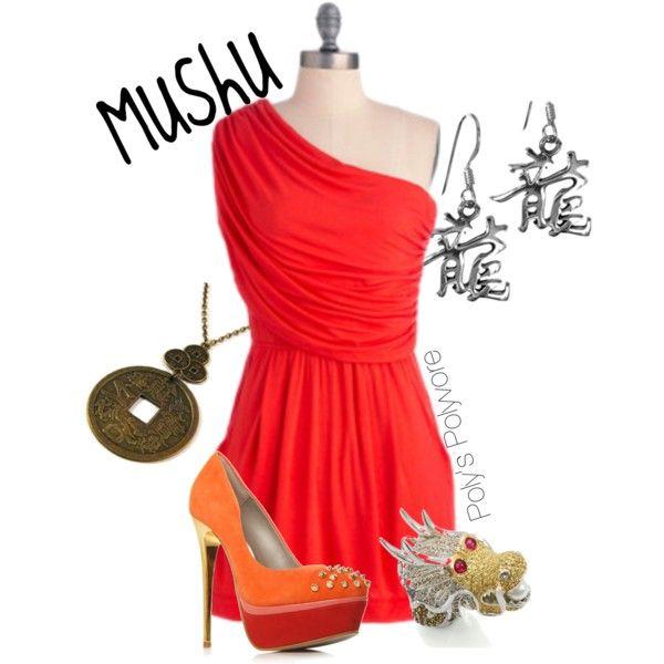 Mushu, created by jgreenwald on Polyvore
