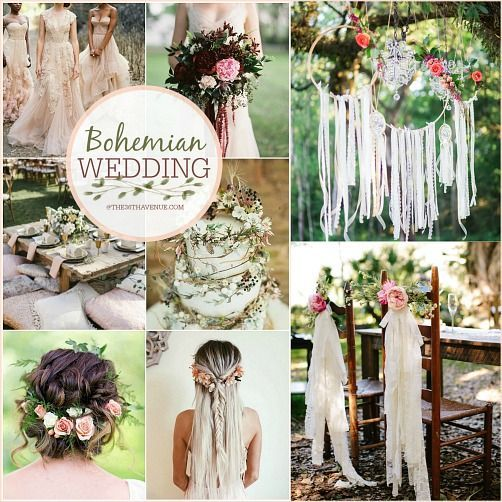 Bohemian Wedding Reception: DIY Boho Chic Wedding (The 36th