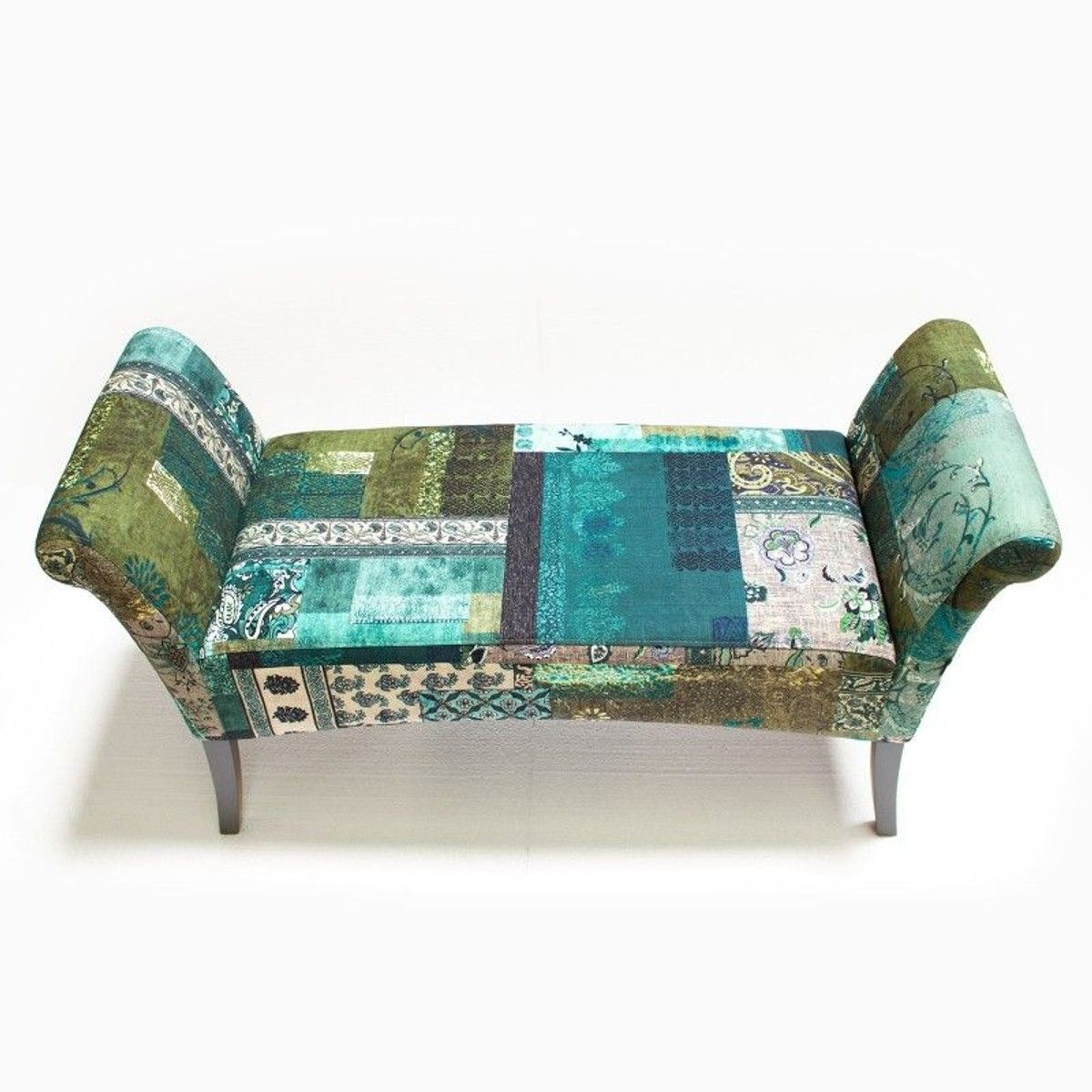 Banc Tissu Motley Patchwork Bleu Vert Kare Design En 2019 Products